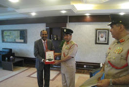 Dubai Police Training Vendor Award