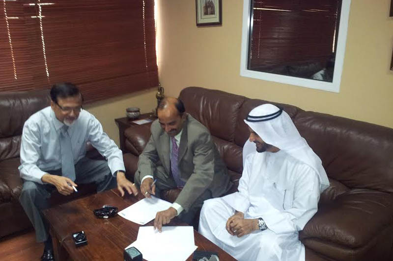 Pan Emirates Contract Signing